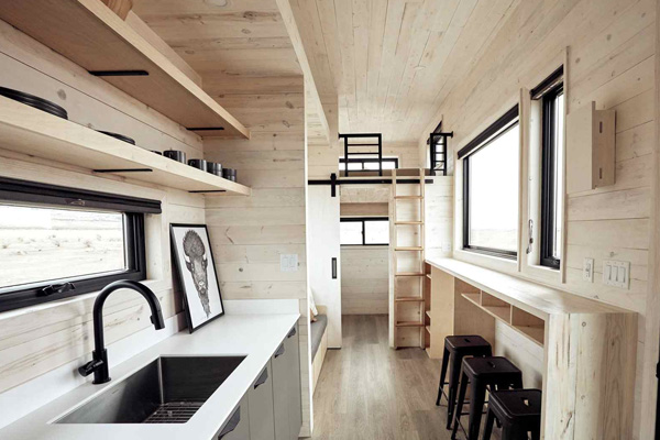 Tiny House Life in Adell from a Shell Kit